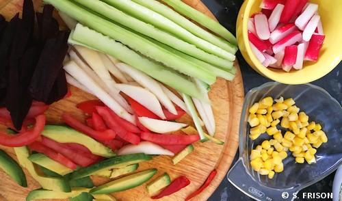 ingrédients-makis-vegan