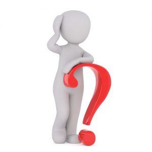 silhouette symbolisant une personne qui s'interroge